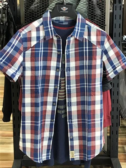 チェックシャツ-001
